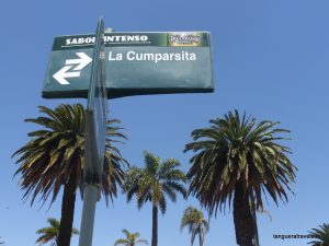 La Cumparsita street sign