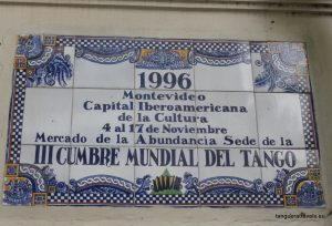 Sign outside the Mercado de la Abundencia