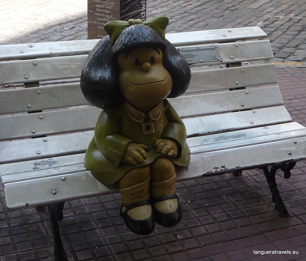 Mafalda wants to tango