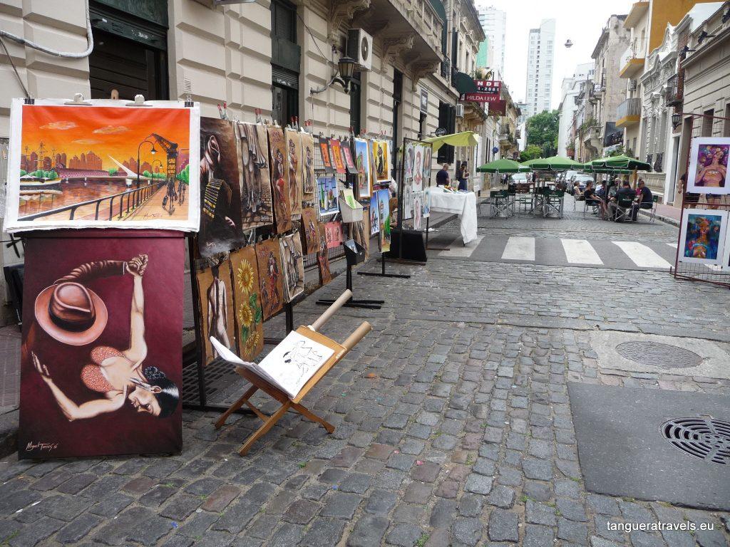 Paintings, Feria de San Telmo, Buenos Aires