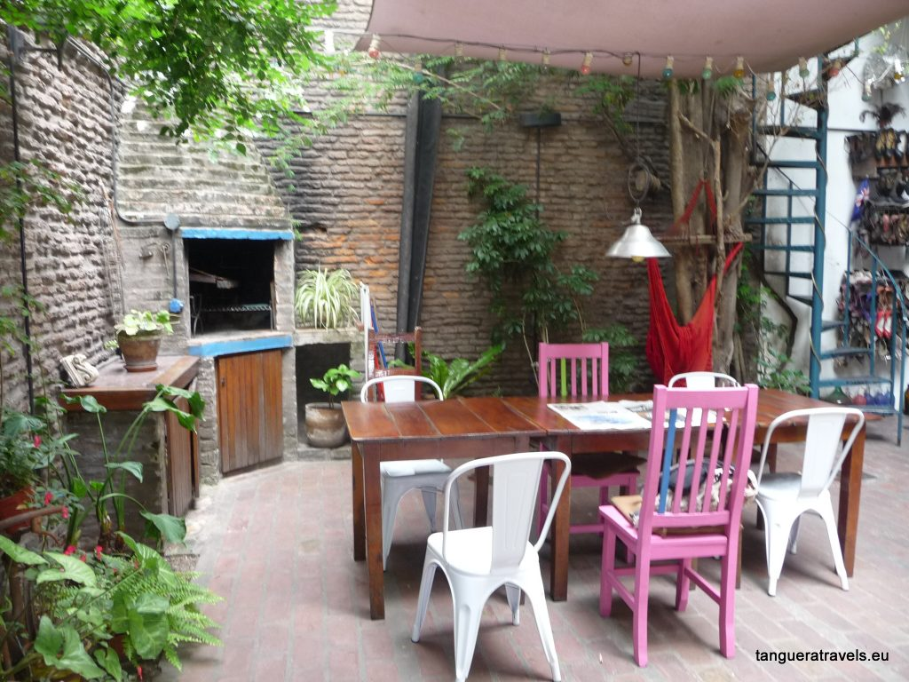 Innercourtyard at Lina's Tango Guesthouse, Buenos Aires