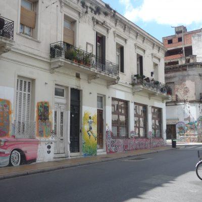 street scene, San Telmo Buenos Aires