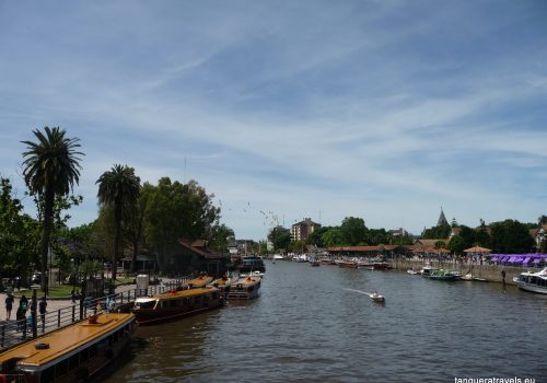 View of Rio Tigre from the bridge
