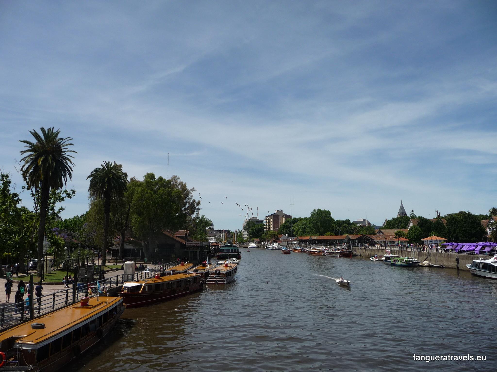 View of Rio Tigre from the bridge