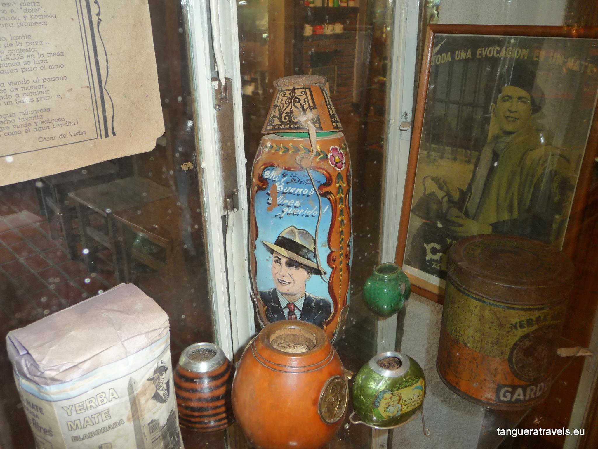 Gardel memorabilia, Museo del Maté, Tigre