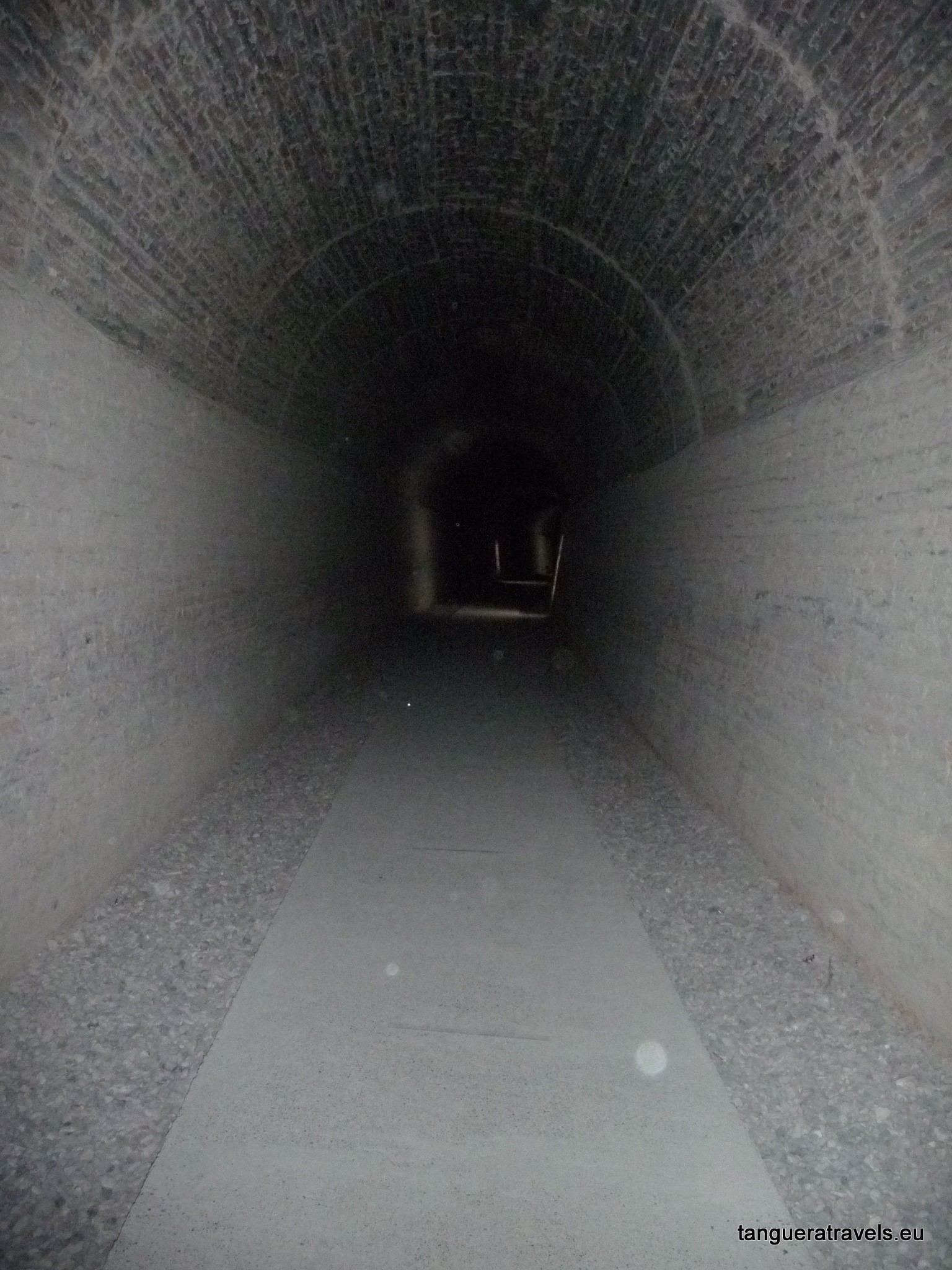 Train tunnel, Gaiman, Argentina