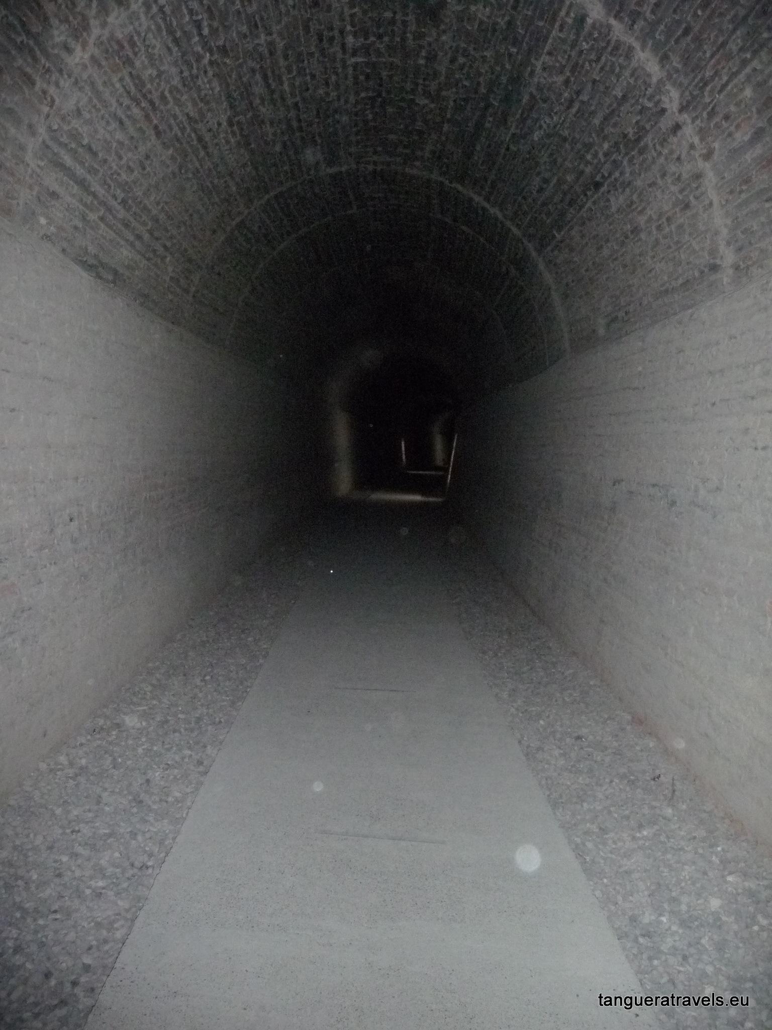Train tunnel, Gaiman, Argentina