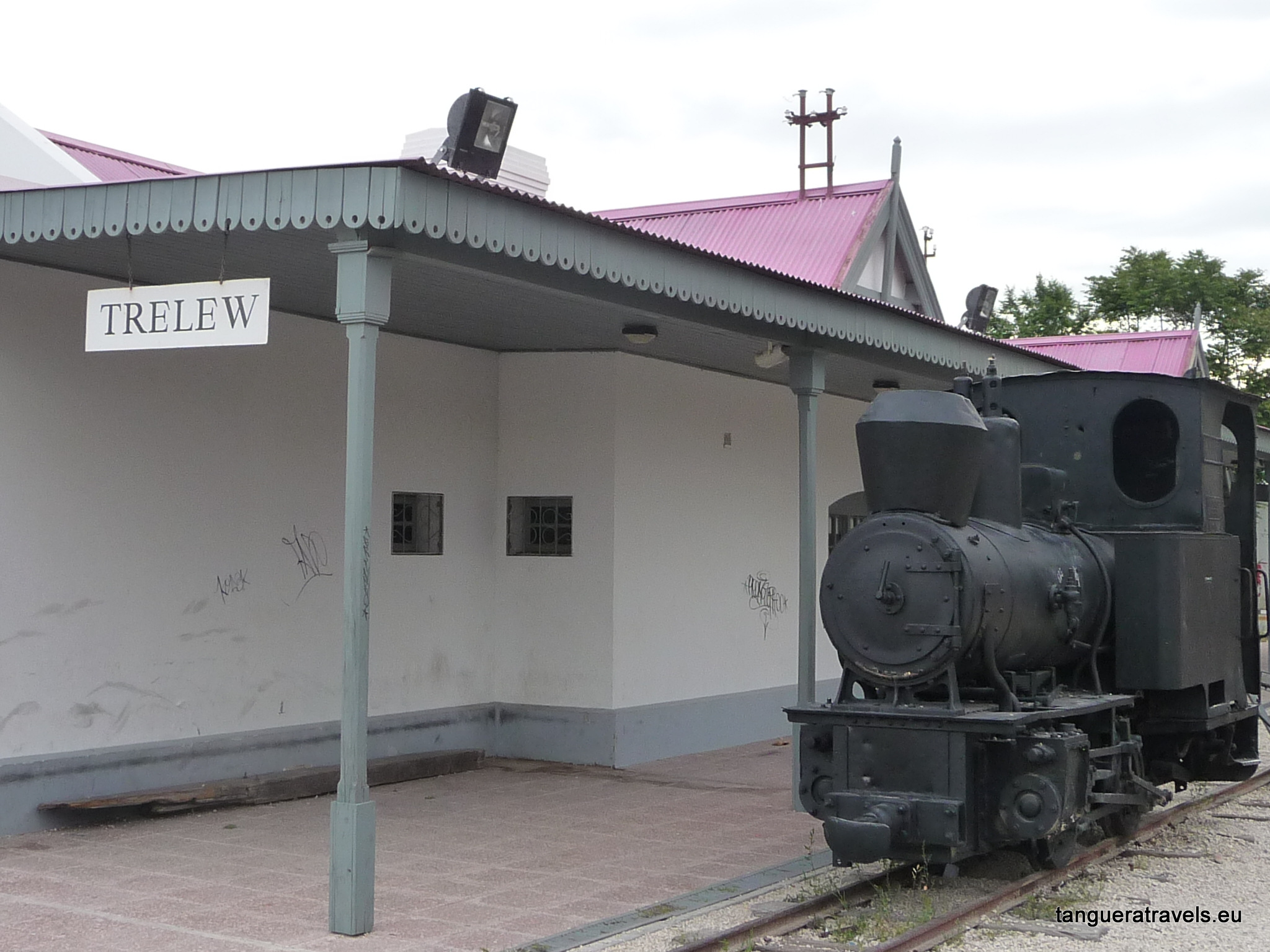 old train station, Trelew