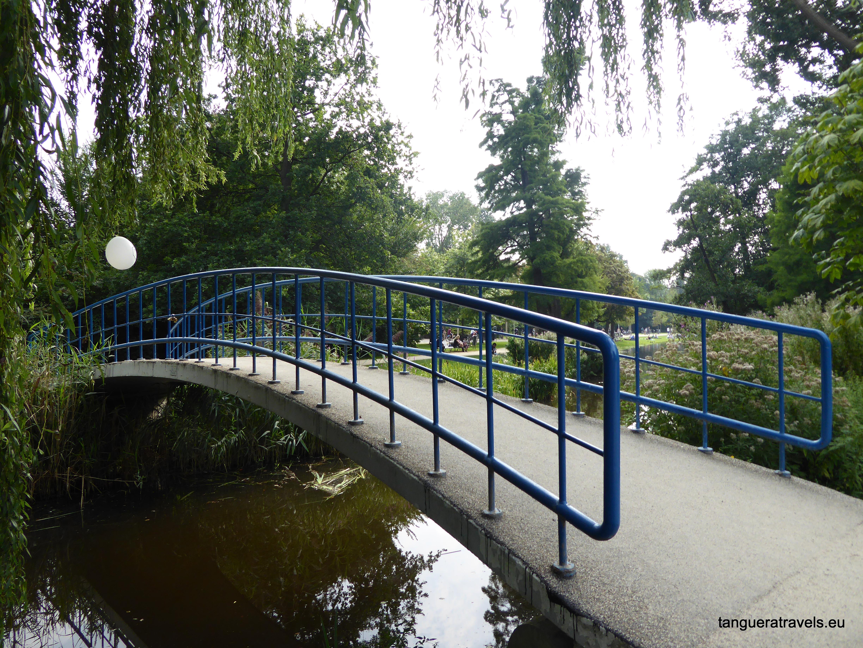 Bridge in Vondelpark, Amsterdam