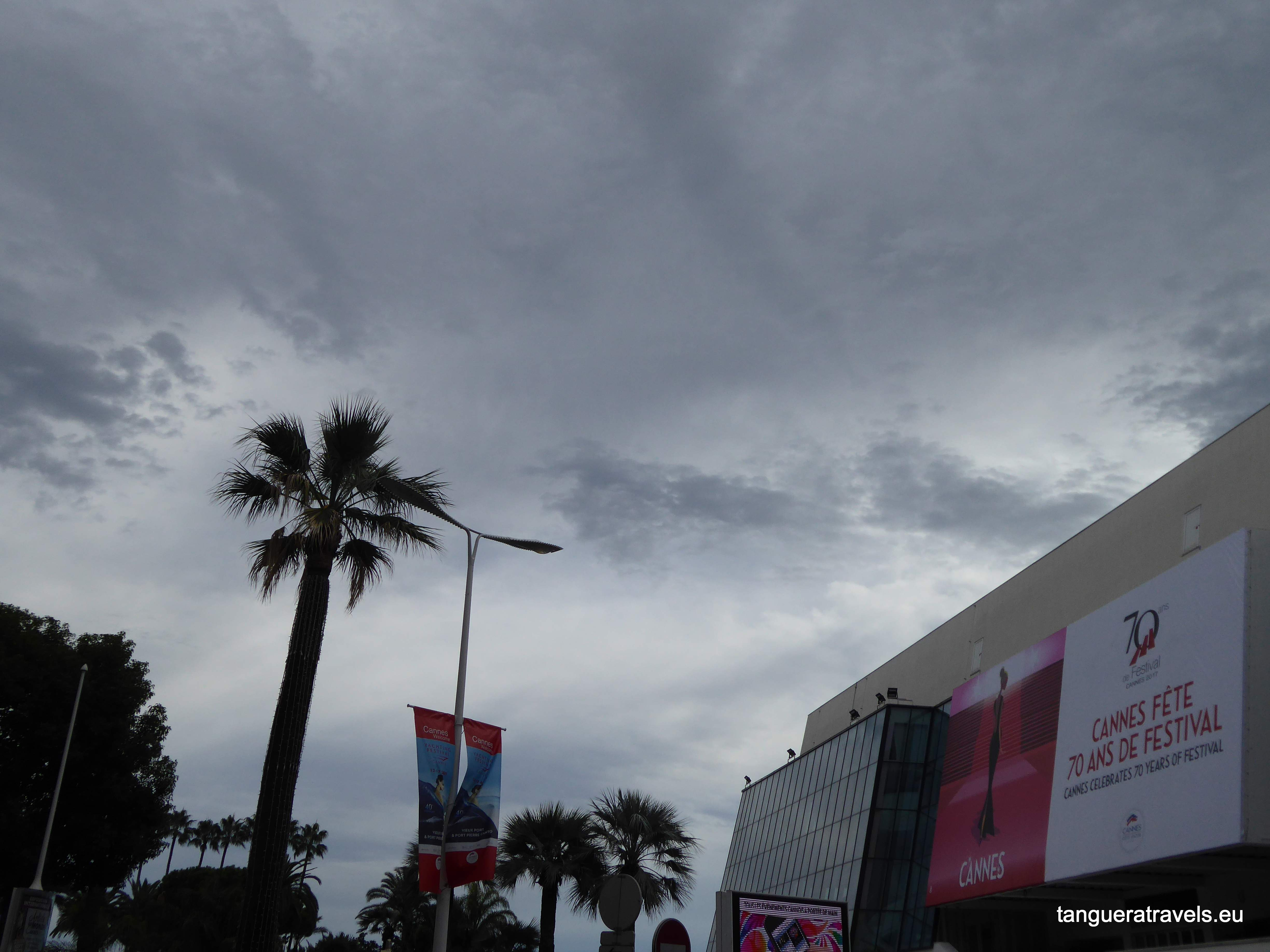 Clouds over Cannes