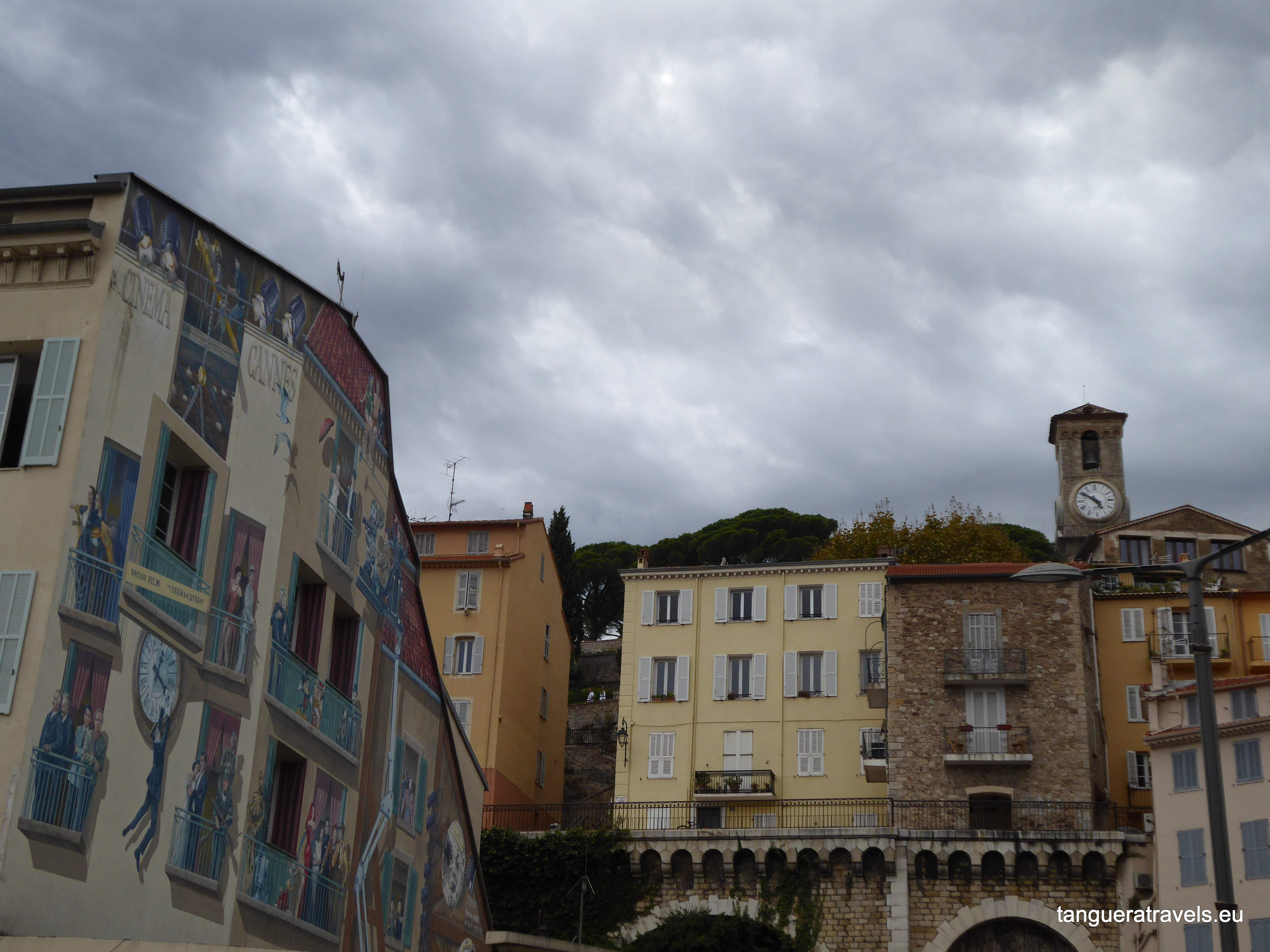 View of the Suquet from below