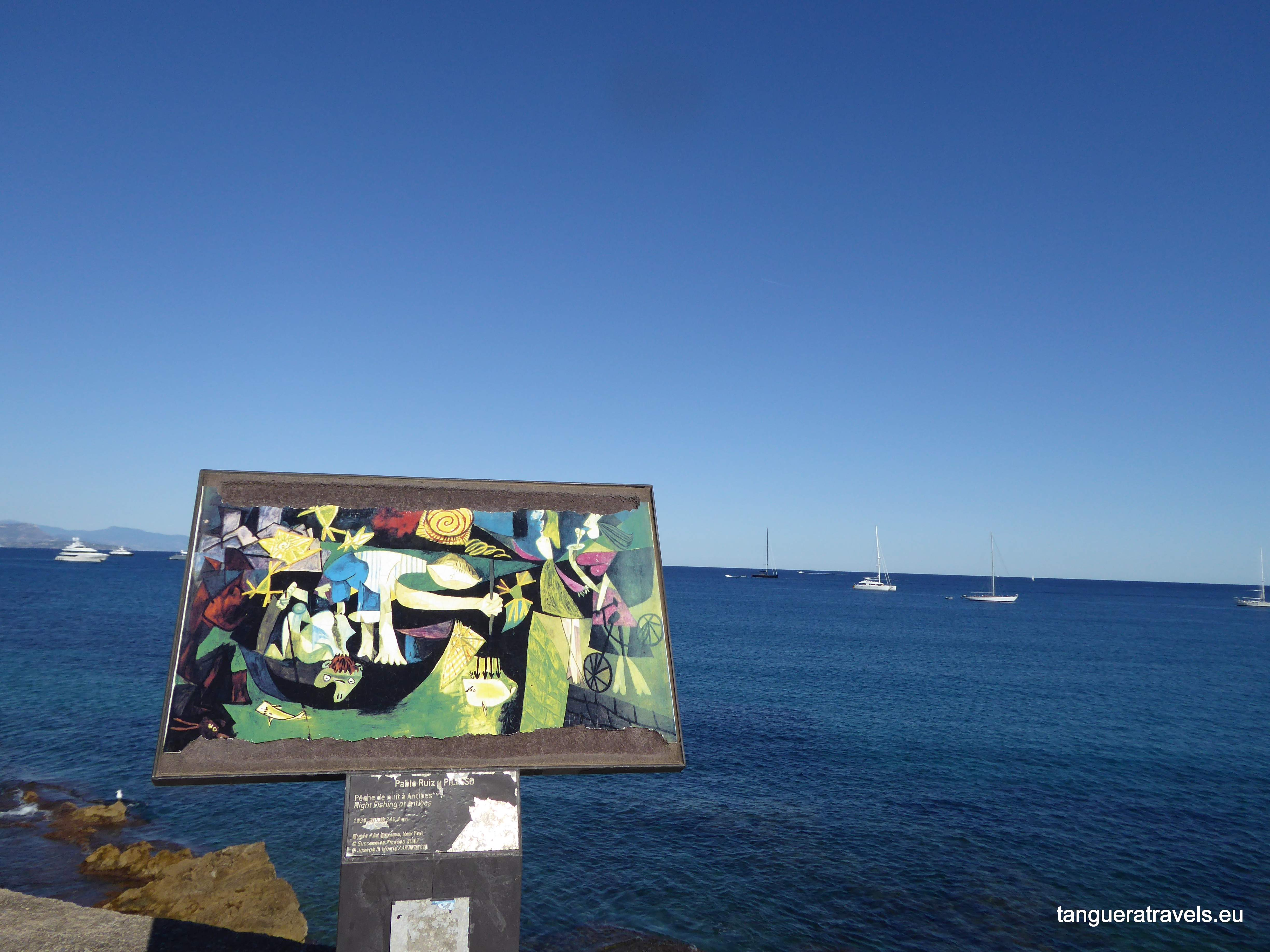 Picasso by the sea