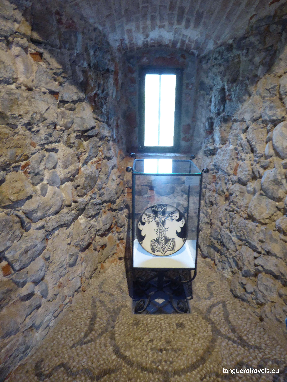 Exhibit inside Musee du Bastion