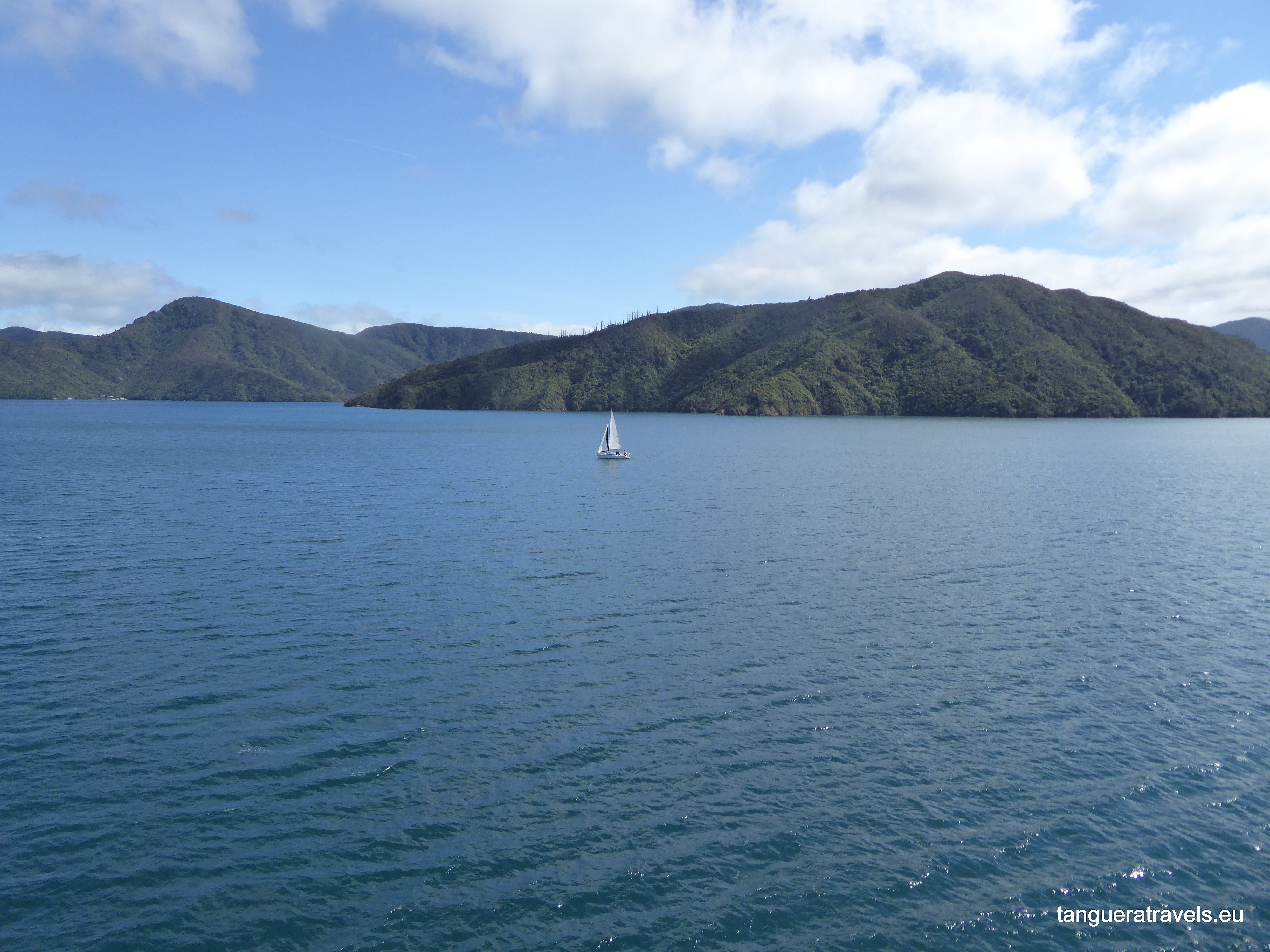 Interislander crossing Picton to Wellington New Zealand