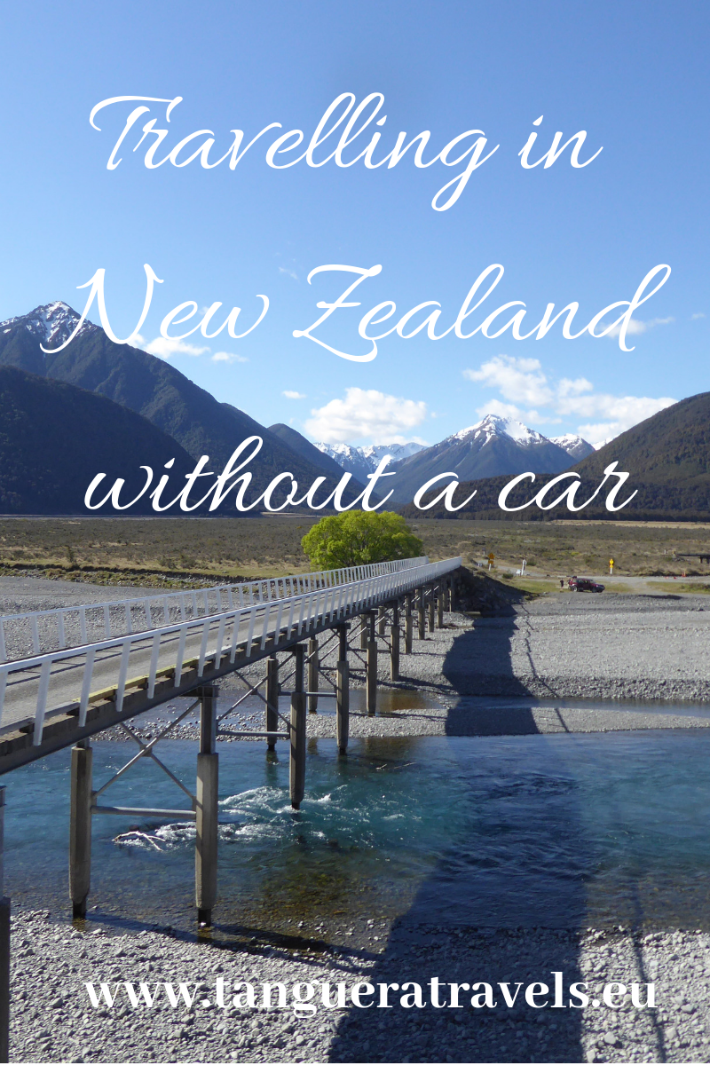 Travelling in New Zealand without a car by Tanguera Travels