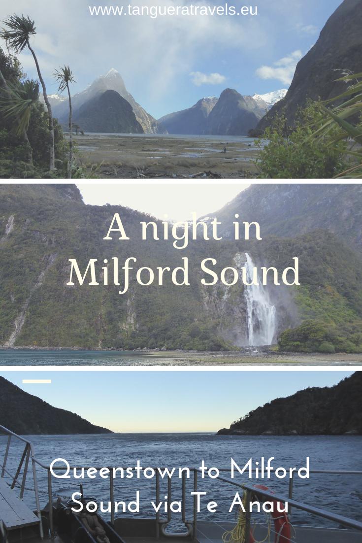 A night in Milford Sound