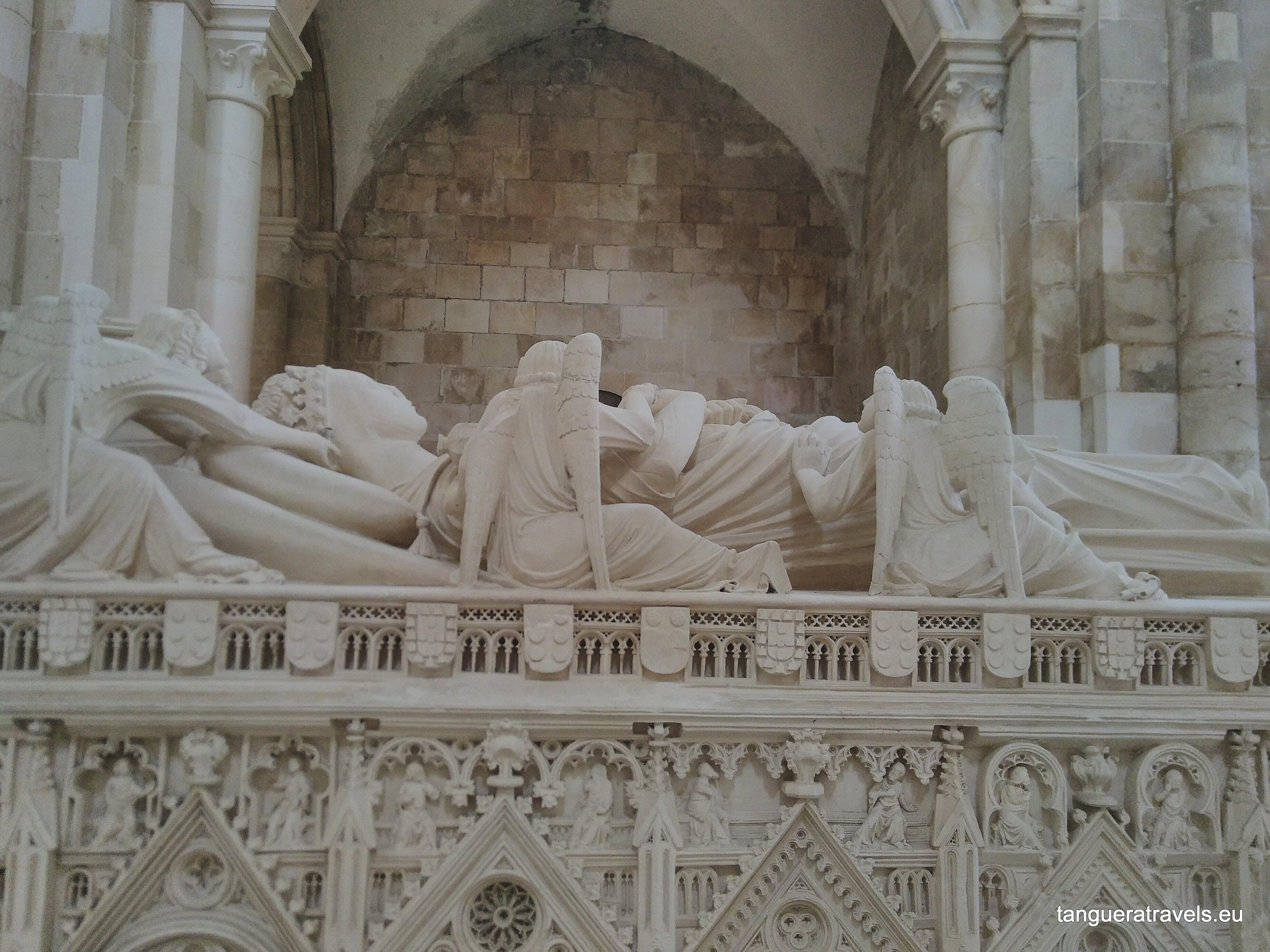Tomb of Ines de Castro Alcobaca monastery