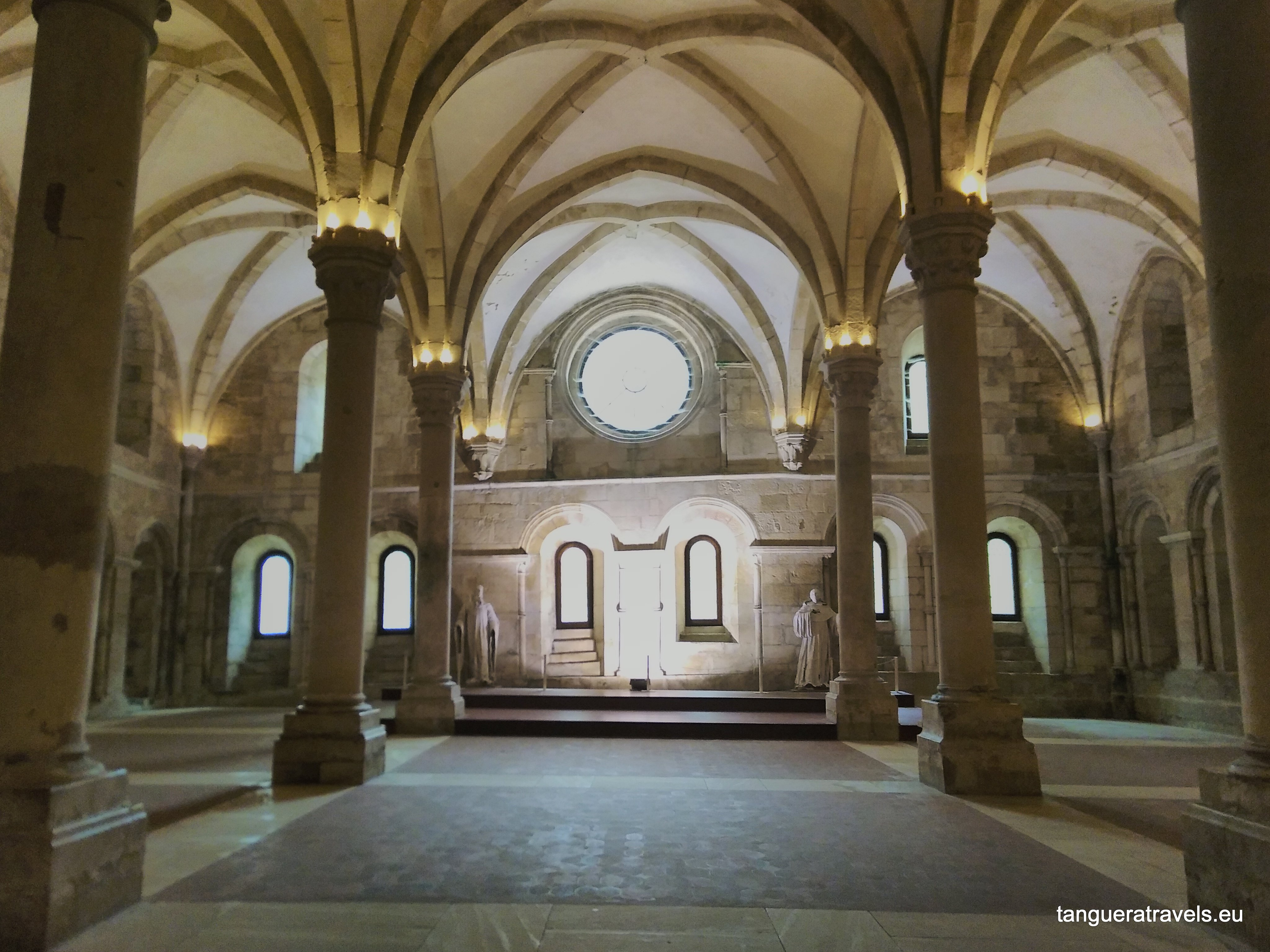 Refectory of the monastery in Alcobaça