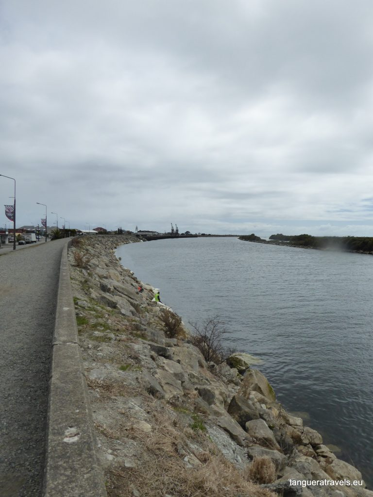 Greymouth by the river